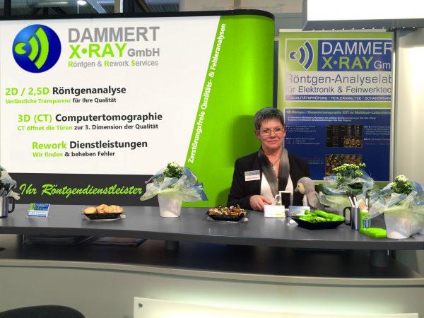 Dammert X-Ray stellt seine zerstörungsfreien Röntgendienstleistungen und Rework-Services vor