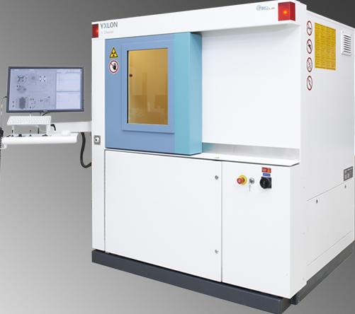 YXLON - Y.Cheetah Röntgensystem, welches bei der Dammert X-Ray GmbH genutzt wird.