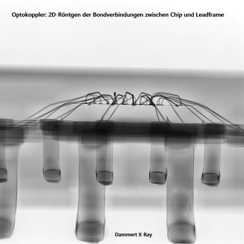 X-Ray Analyse Optokoppler (Bonddrähte_i.O.)